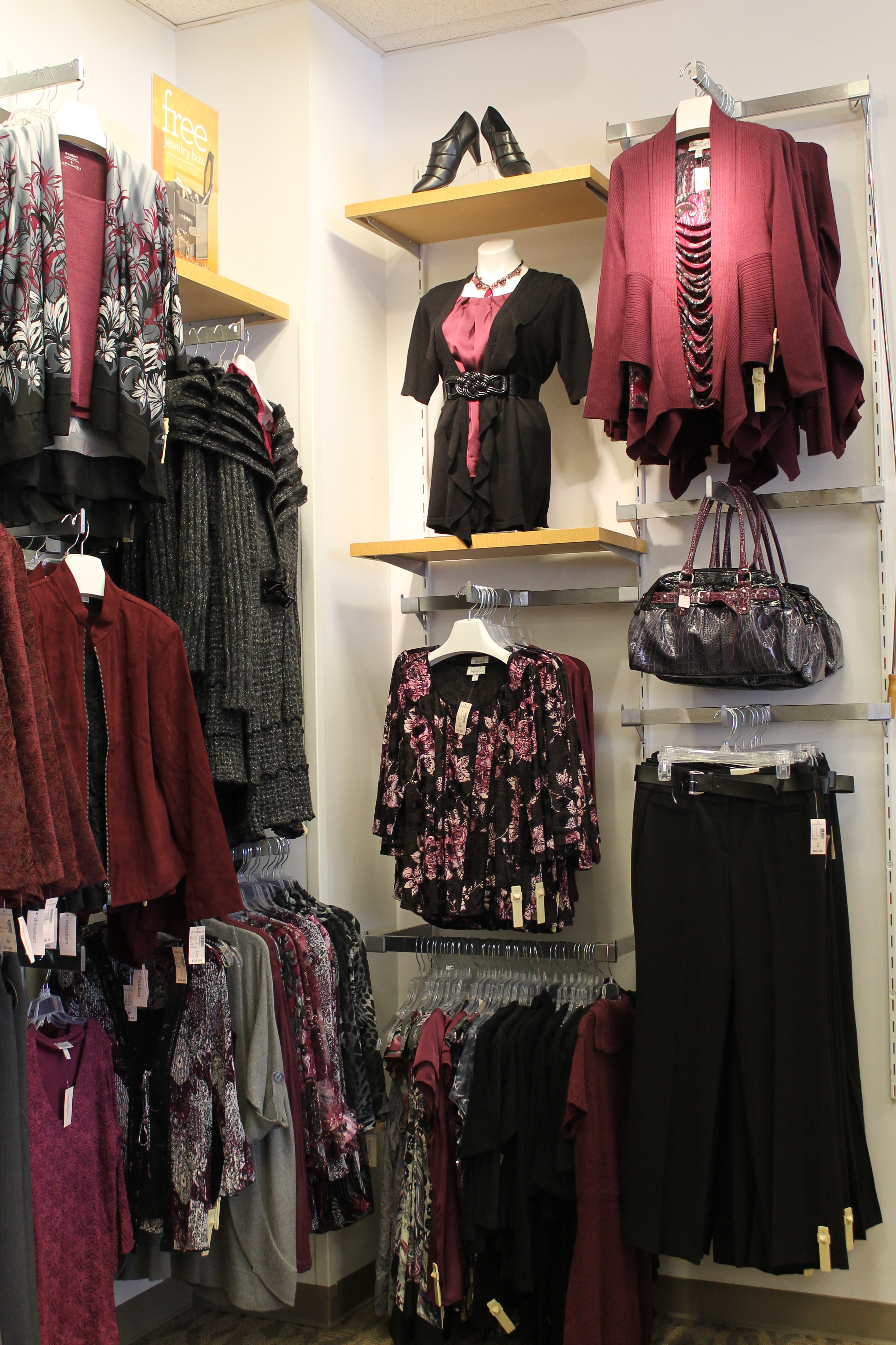 dress ashley her courtesy barns launched on s graham zoom news march grahams barn first for see by stylish dressbarn clothing beyond collection