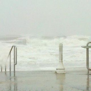 Hurricane Sandy Beach