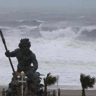 Hurricane Sandy King Neptune
