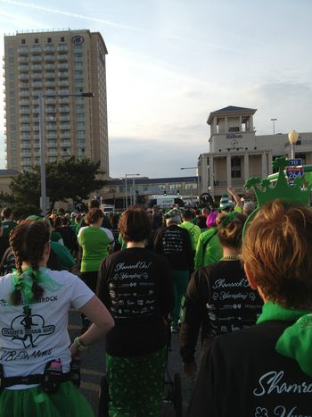 Running and Walking The Shamrock 8k