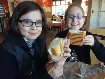 Breakfast with the Shorties - and a Giveaway for You!
