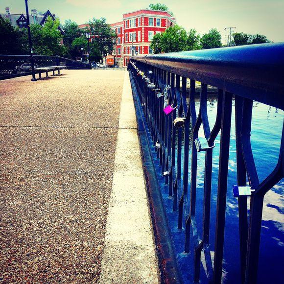 The Norfolk Lock Bridge