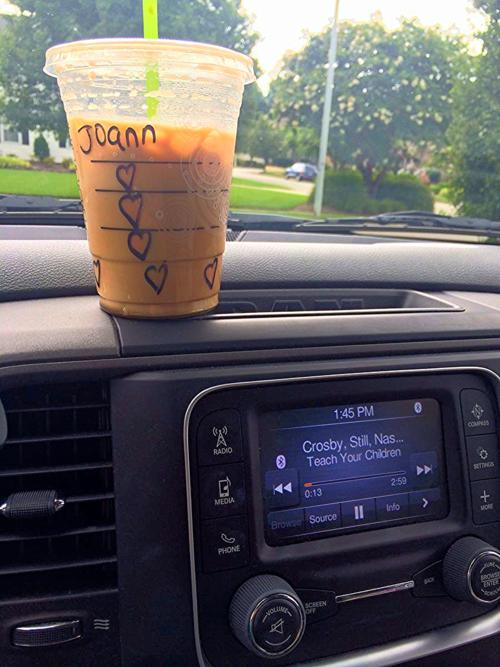 #StarbucksForJoann